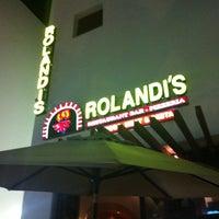 Photo taken at Rolandi's by Jorge B. on 10/22/2011