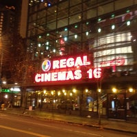 Photo taken at Regal Cinemas Meridian 16 by Kertley V. on 11/15/2011