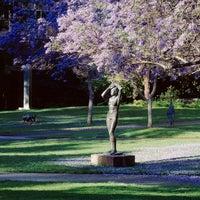 Photo taken at UCLA Franklin D. Murphy Sculpture Garden by UCLA on 9/12/2011