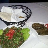 Photo taken at Leila Restaurant by Derek E. on 11/29/2011