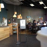 Photo taken at Awaken Cafe by Octavio M. on 7/18/2012