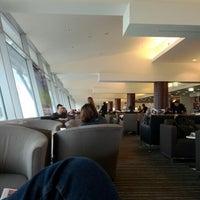 Photo taken at Qantas Club (T3) by Joanne J. on 7/21/2012