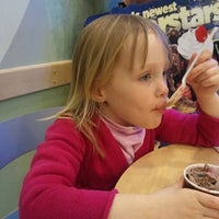 Photo taken at Marble Slab Creamery by Julie M. on 1/28/2012