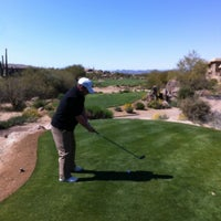 Photo taken at Troon North Golf Club by Cory S. on 3/2/2012