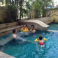 Photo taken at RS Sea Side Hotel Pattaya by Sarawan K. on 4/14/2012