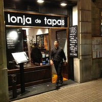 Photo taken at Lonja de Tapas by Artiom A. on 5/4/2012
