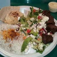 Photo taken at RICE House of Kabob by Vivian B. on 5/25/2012