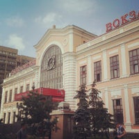 Photo taken at Savyolovsky Rail Terminal by Timur S. on 7/10/2012