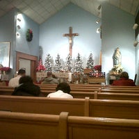 Photo taken at St. Mary's Catholic Church by Beno Z. on 12/25/2011