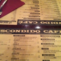 Photo taken at Escondido Cafè by Just R. on 8/25/2011