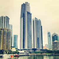 Photo taken at Surfers Paradise by Cameron B. on 5/25/2012