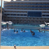 Photo taken at Water Planet Deluxe Hotel & Aquapark by MeLaNKoLi Aykut A. on 8/26/2012