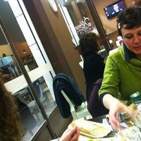 Photo taken at Kebaguette by Andrea B. on 3/10/2012