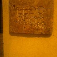 Photo taken at Pub Lloc de Joc by Almudena D. on 8/30/2011