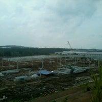 Photo taken at KIIC (Karawang International Industrial City) by Alfred R. on 1/26/2012