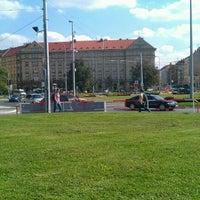 Photo taken at Dejvická (bus) by Vaclav B. on 9/16/2011