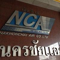Photo taken at Nakhonchai Air Bus Terminal by Kenneth K. on 7/8/2012