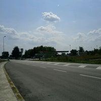 Photo taken at Distributore Erg by Simone B. on 8/30/2011