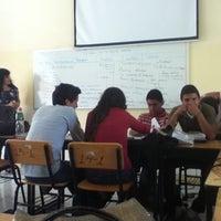 Photo taken at Escuela Normal Superior De Michoacan by Louis R. on 5/18/2012