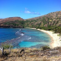 Photo taken at Hanauma Bay Nature Preserve by Steph D. on 4/26/2012