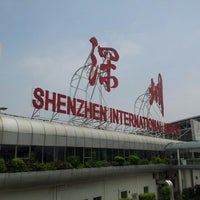 Photo taken at Shenzhen Bao'an International Airport (SZX) by Robert W. on 6/12/2012