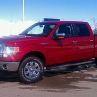 Photo taken at Luther Family Ford by Rick R. on 4/9/2011