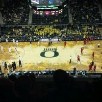 Photo taken at Matthew Knight Arena by Kim on 11/18/2011