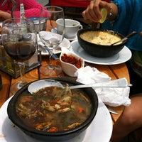 Photo taken at Restaurant La Bahía by Jaime M. on 1/11/2012