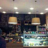 Photo taken at Boréal Coffee Shop by Stéphane K. on 2/1/2012