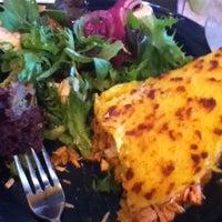 Photo taken at Zaguán Latin Bakery & Cafe by Phil A. on 9/23/2011