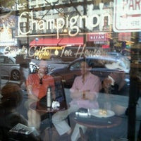 Photo taken at Cafe Champignon by Matthew R. on 7/10/2012