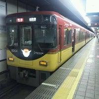 Photo taken at Keihan Yodoyabashi Station (KH01) by Tatsuya D. on 9/10/2011