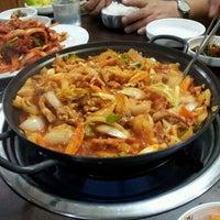 Photo taken at Yang Won Restaurnat (장원) by David L. on 3/1/2012