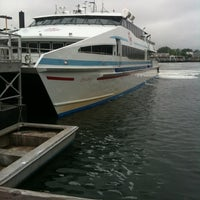 Photo taken at Hy-Line Cruises Ferry Terminal (Hyannis) by Benjamin L. on 6/10/2011