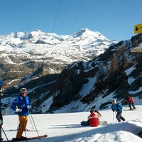 Photo taken at Gressoney-Saint-Jean by Peter H. on 3/29/2012