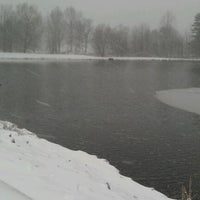 Photo taken at Sully's Trail Pond by Stephen Y. on 1/13/2012