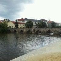 Photo taken at Stone bridge by Miroslav R. on 7/21/2011