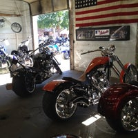 Photo taken at Bourget Bike Works Of Sturgis by Trey W. on 8/4/2012