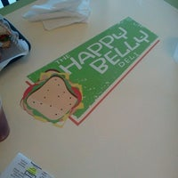 Photo taken at The Happy Belly Deli by Kevin D. on 6/28/2012
