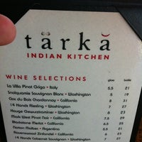 Photo taken at Tarka Indian Kitchen by Charity W. on 12/26/2010