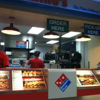 Photo taken at Domino's Pizza by Sean M. on 3/4/2012