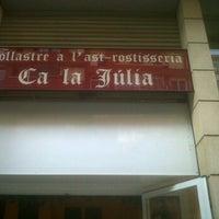 Photo taken at Ca la julia by Ana T. on 12/4/2011