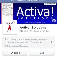 Photo taken at Activa! Solutions by Alberto C. D. on 8/23/2012