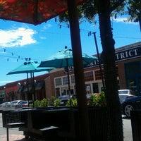 Photo taken at Bishop Arts District by Ann N. on 9/9/2012