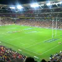 Photo taken at Suncorp Stadium by Paul M. on 6/9/2012