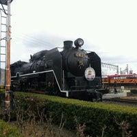 Photo taken at Umekoji Steam Locomotive Museum by Motoki T. on 1/8/2012