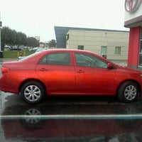 Photo taken at Suburban Toyota by Cindy S. on 9/15/2011
