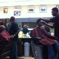 Photo taken at Hewitt's Barber Shop by Chuck B. on 9/17/2011