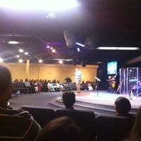 Photo taken at Focal Point Church by Josh D. on 9/4/2011
