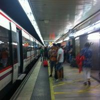 Photo taken at RENFE Passeig de Gràcia by Alex D. on 6/15/2012